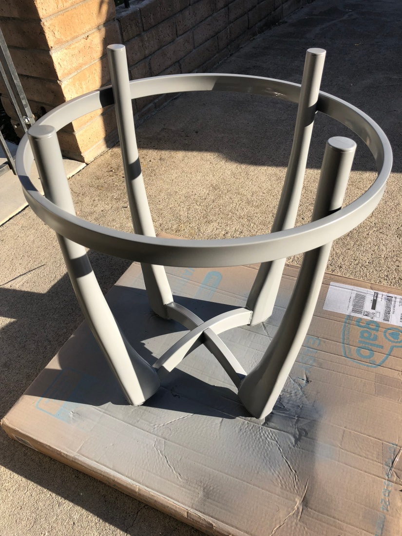 Furniture finished with rust-oleum spray paint