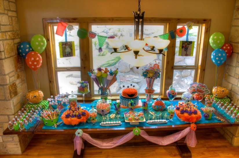 Monster theme party ideas
