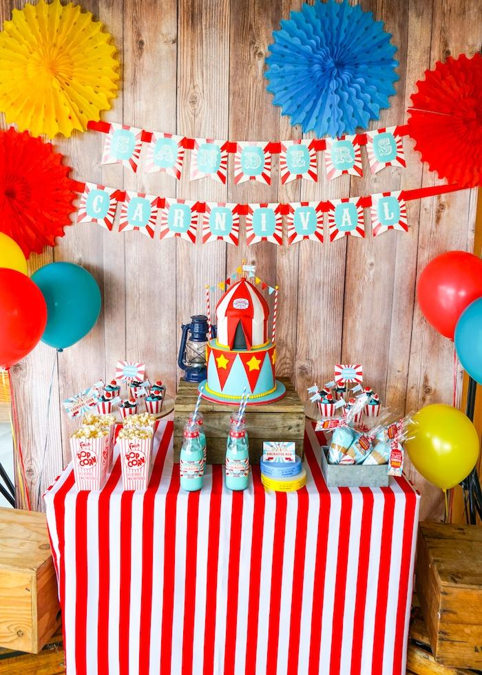 Carnival Birthday Party Theme ideas
