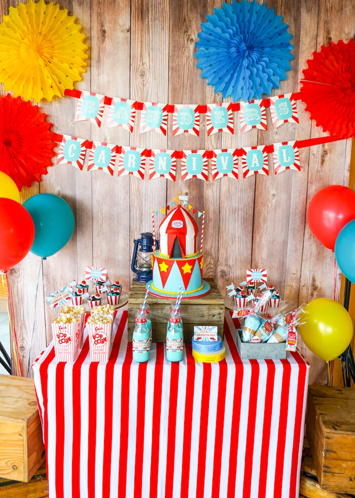 Carnival Birthday Party Theme ideas