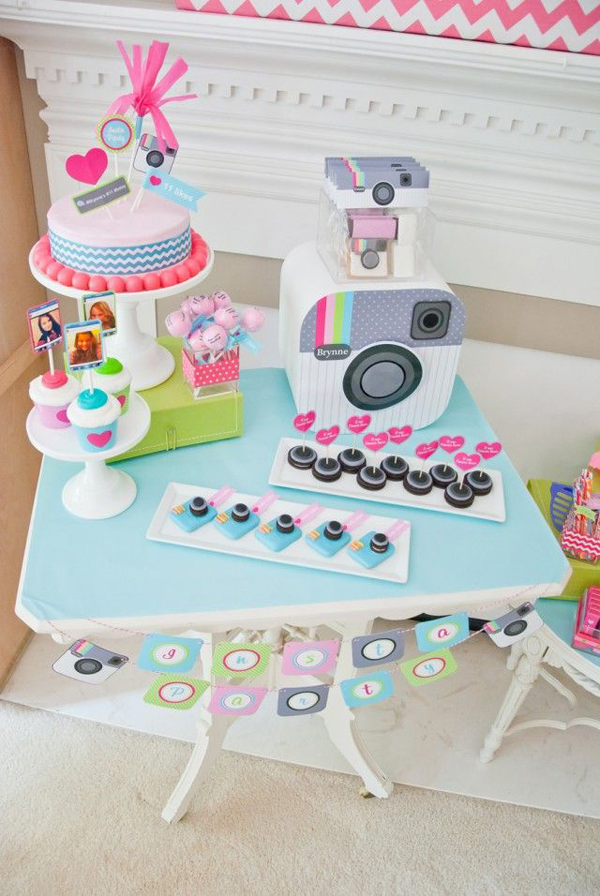 cute party themes for girls