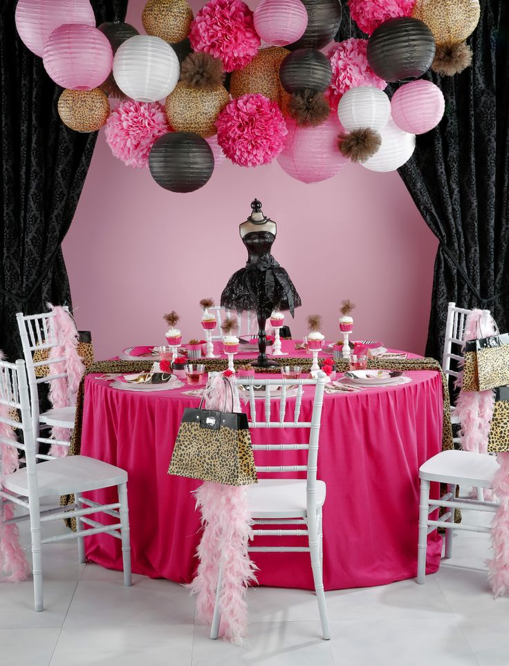 Party Theme for Teenage Girl