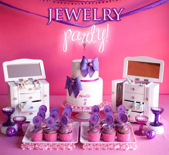 Girls Unique Birthday Party Theme