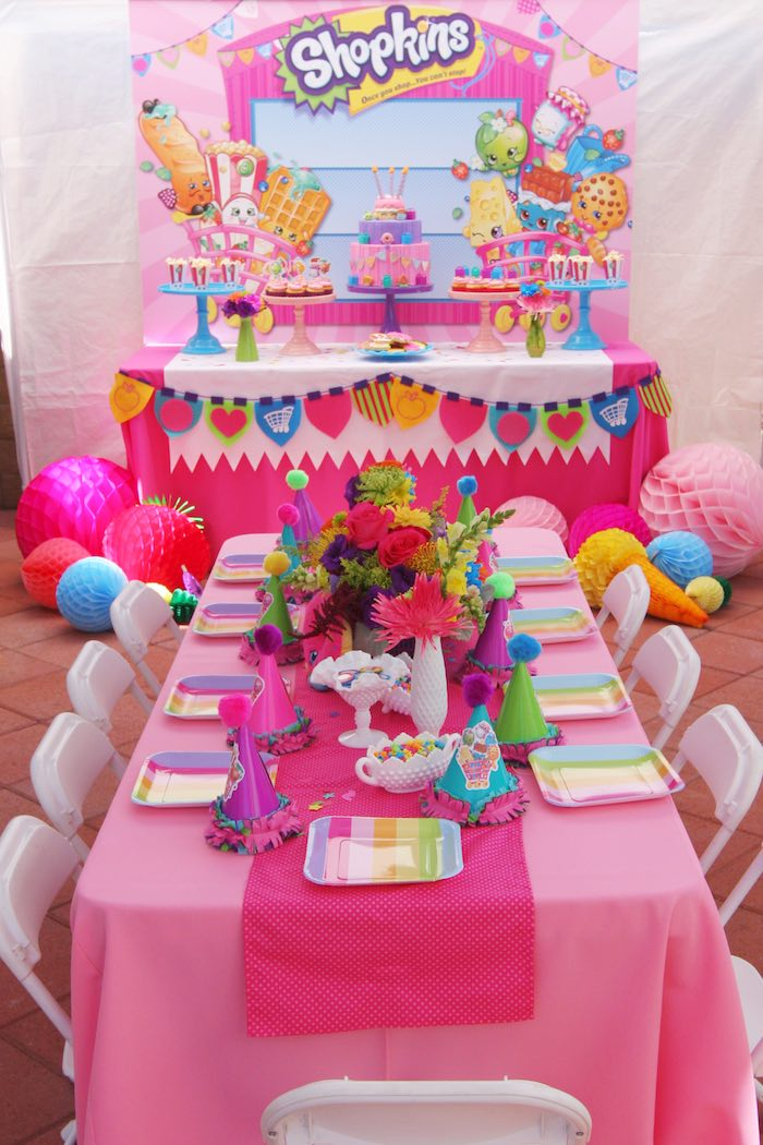Shopkins Birthday Party Theme