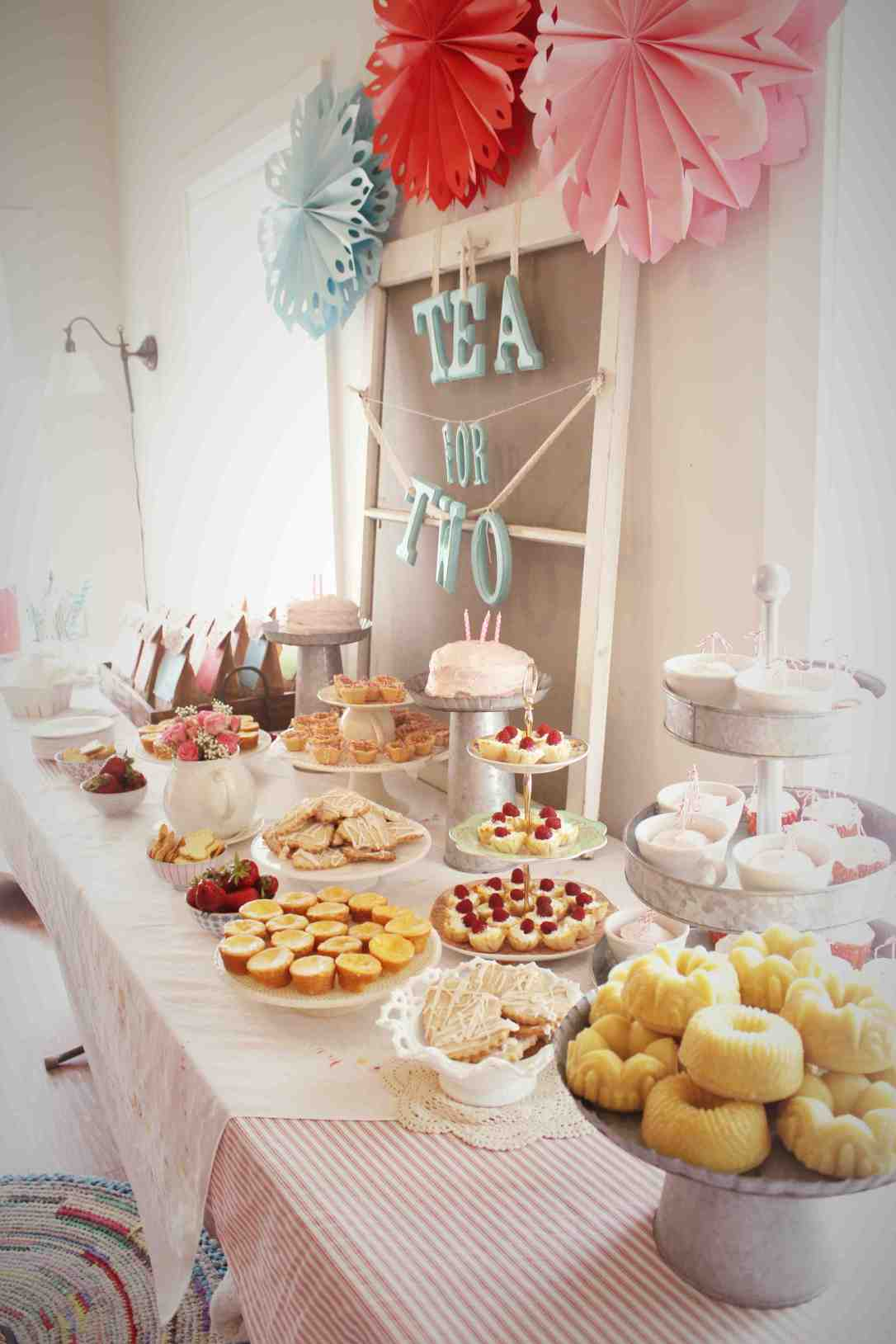 Tea Party Birthday Party Theme
