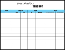 newborn feeding schedule tracker
