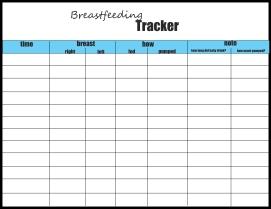 newborn feeding schedule tracker